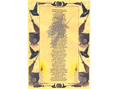 Wiccan Rede Poster Full Version NEW