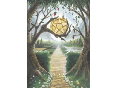 Path of the Wiccan Card A6