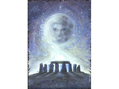 Spirit of Stonehenge Card A6