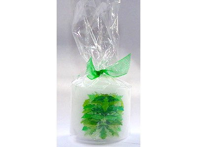 03.5cm Candle Green Man