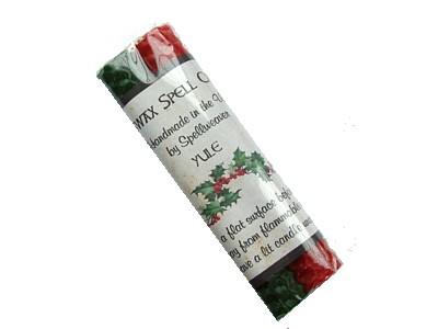Beeswax Sabbat Candles Pack of 2 - Yule