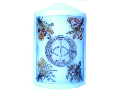 Chalice Well Candle NEW SIZE see description