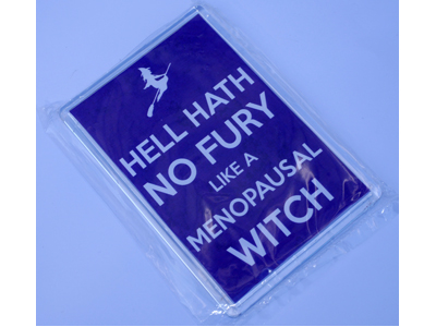 Hell hath no fury like a Menopausal Witch Magnet