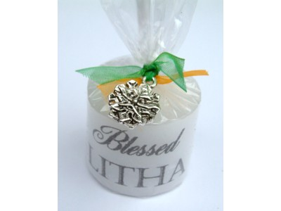 03.5cm Litha Candle with Charm