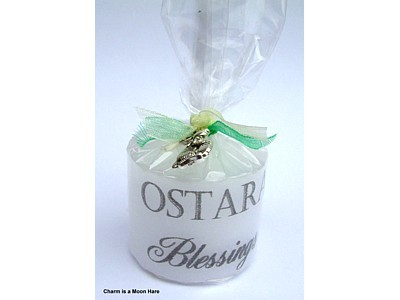 03.5cm Ostara Candle with Charm