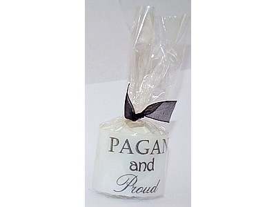 03.5cm Candle Pagan and Proud