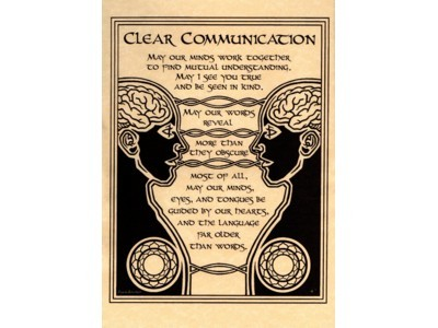 Clear Communication Poster