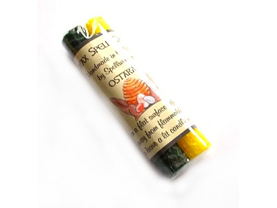 Beeswax Sabbat Candles - Pack of 2 Ostara